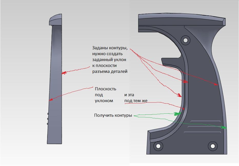 Как сделать уклон в компасе