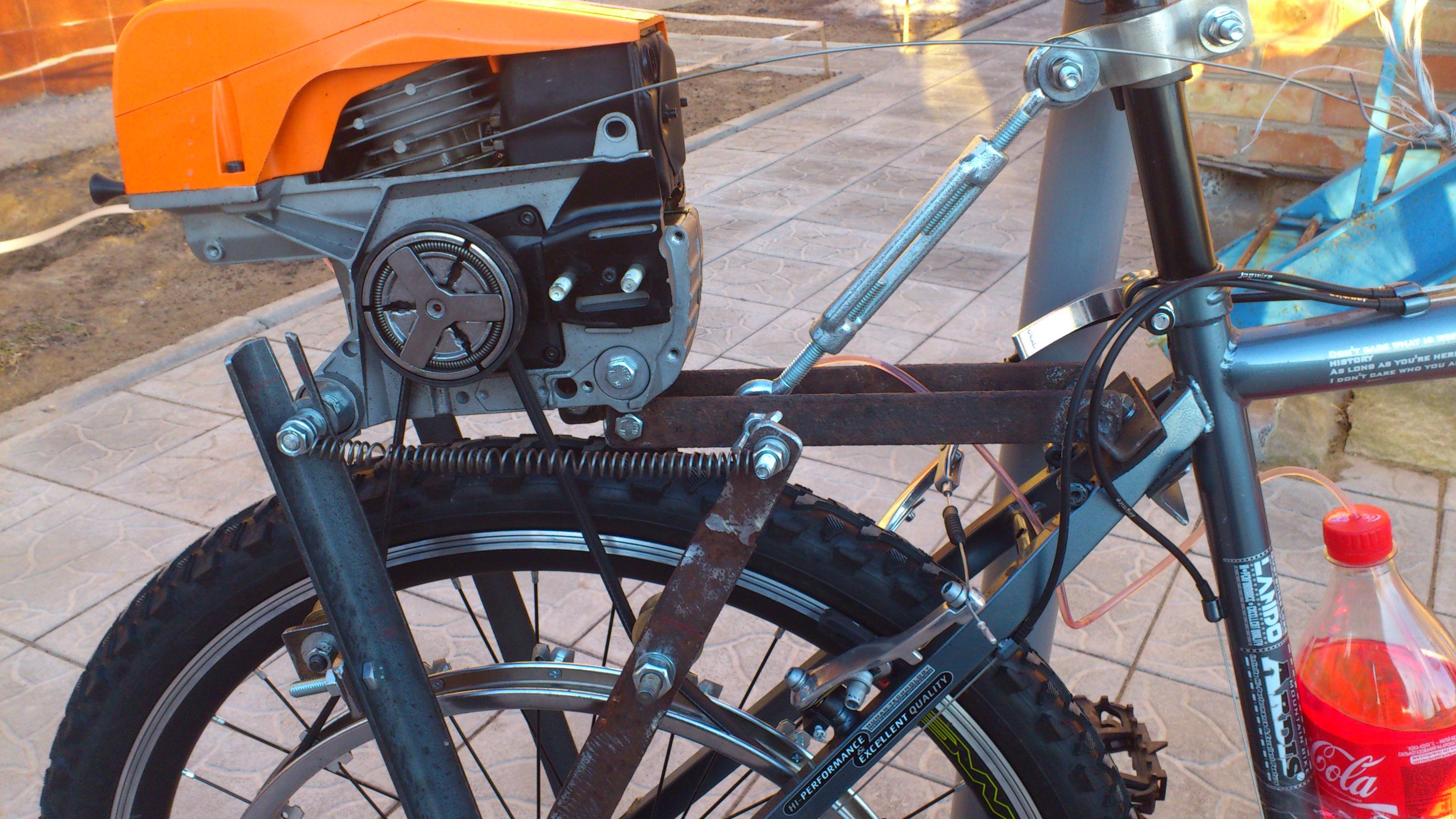 Велосипеды с мотором своими руками 35