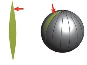 Макет шара