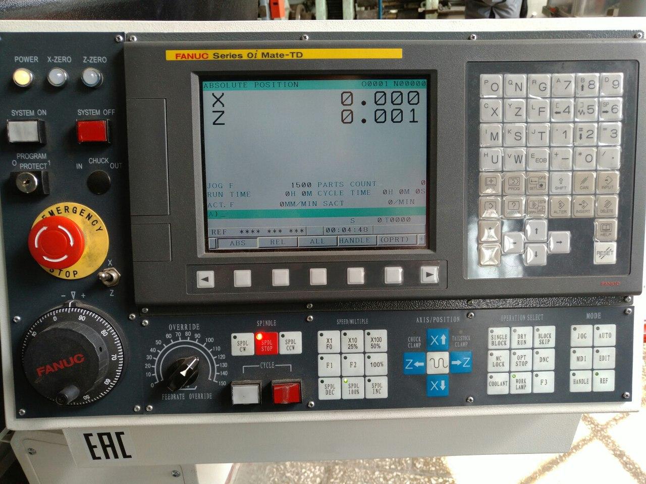 fanuc 0i-td руководство для токарных станков