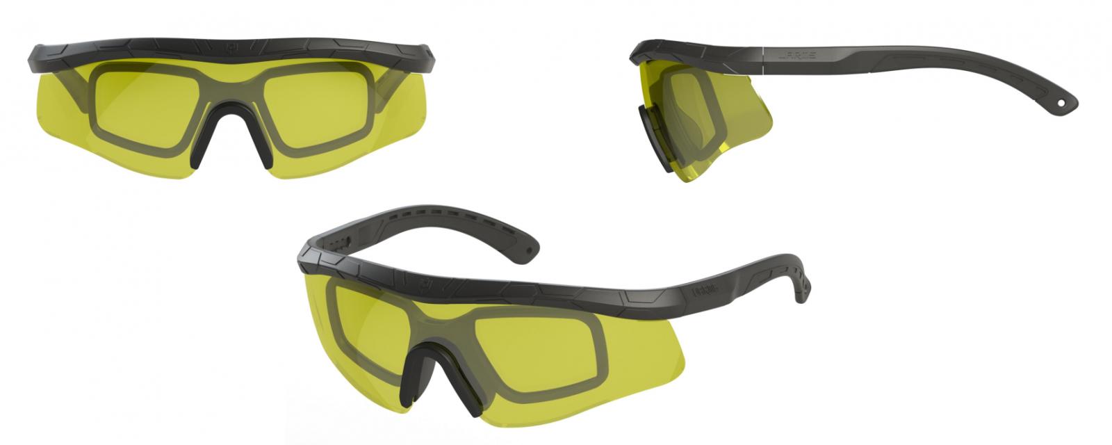 Ballistic glasses