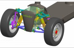 Electric_scooter_with_independent_front_suspension_and_steering