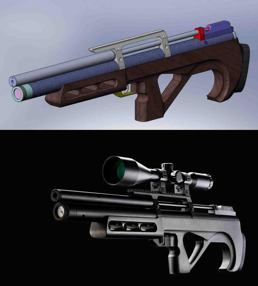 Matador, PCP винтовка