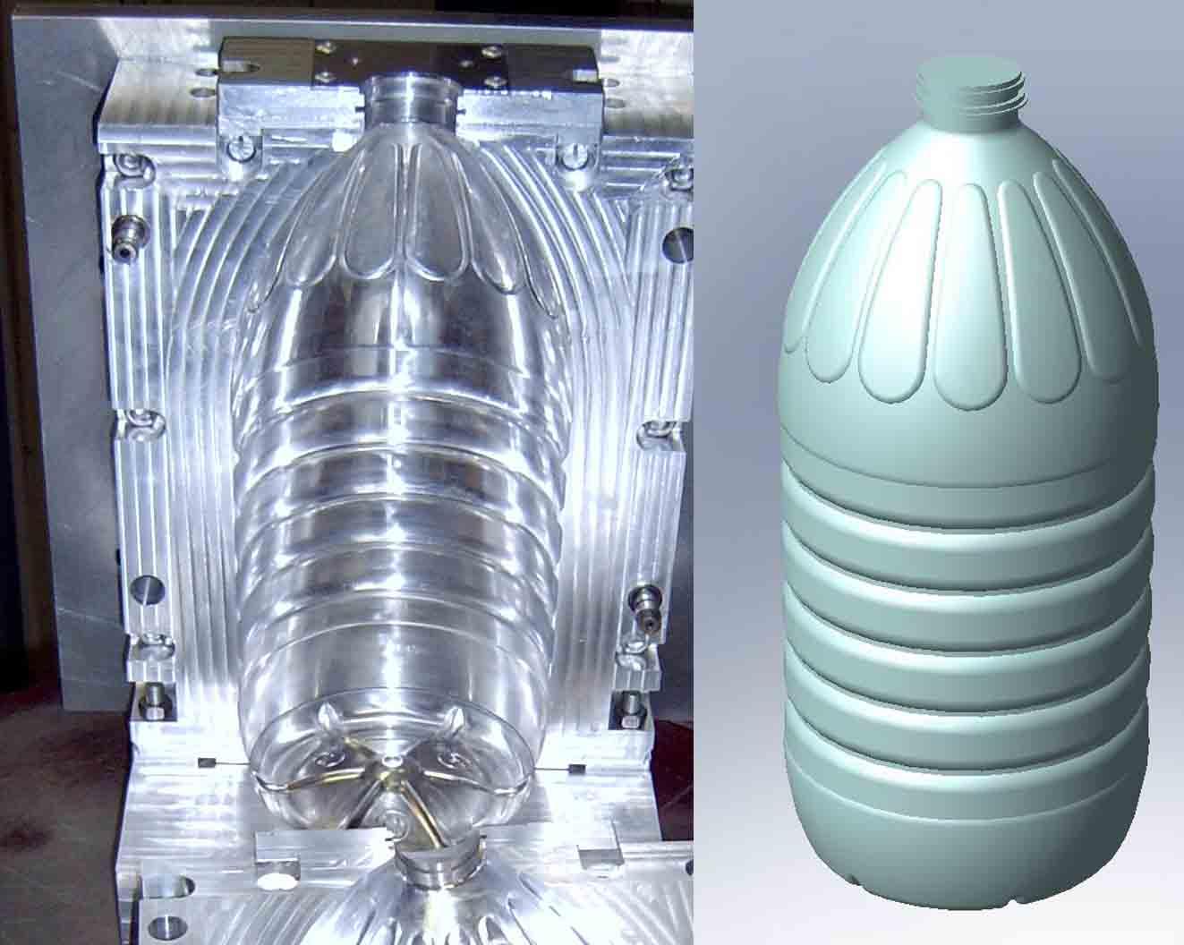 Прессформа под бутылку