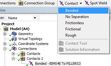 проблема с контактом в моделе4