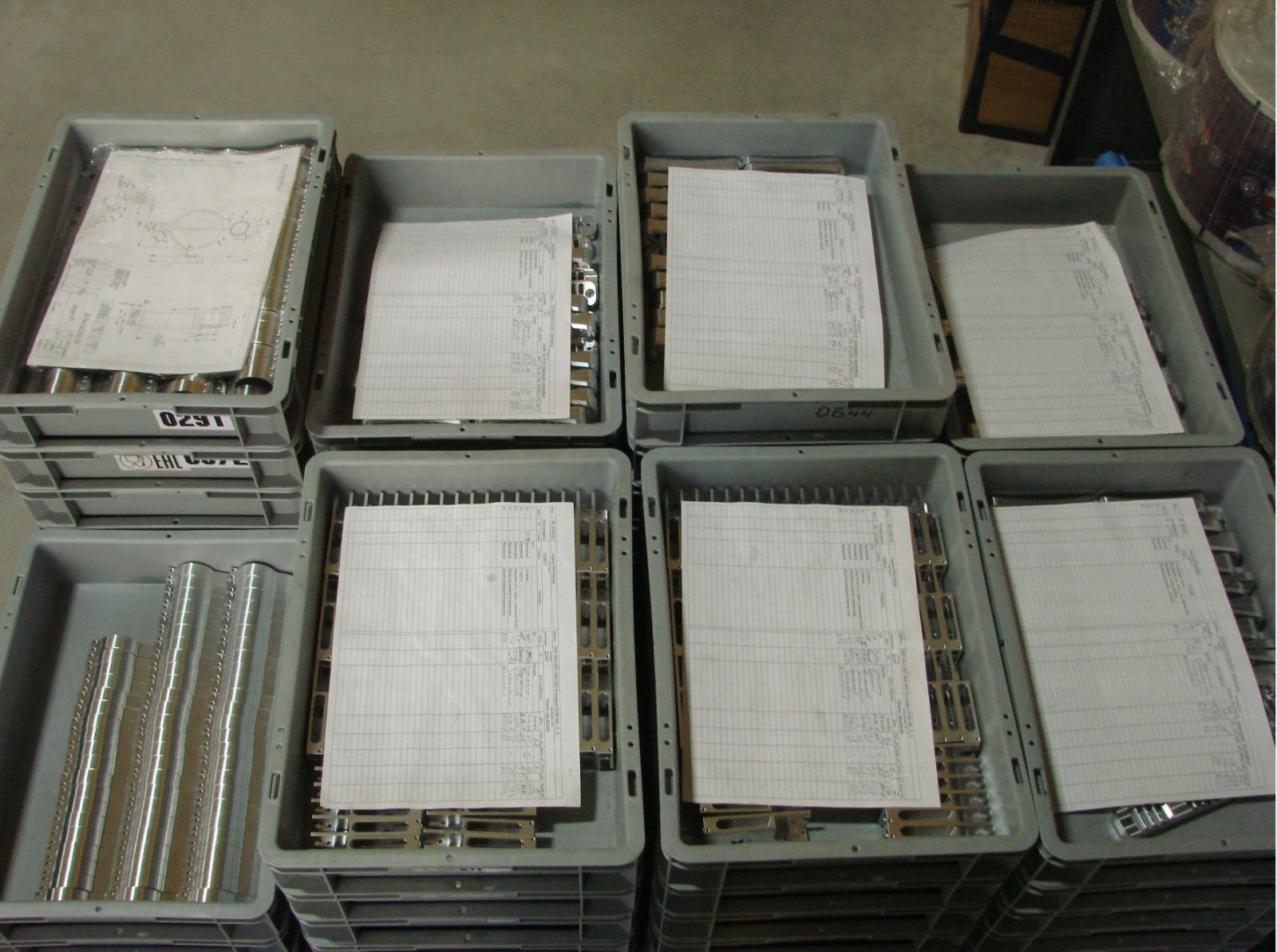 Детали на упаковку и отправку
