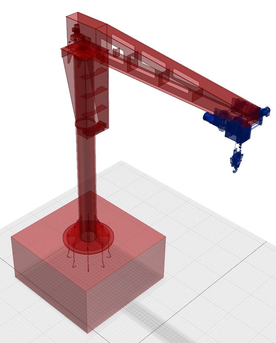 3D моделирование крана