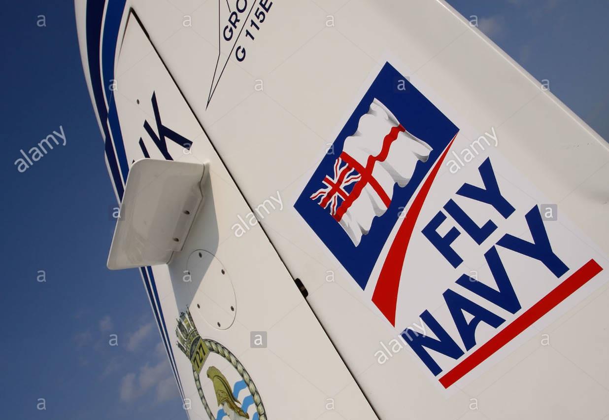 royal navy grob 115 tutor basic flight trainer aircraft with Fly navy A9CF5R