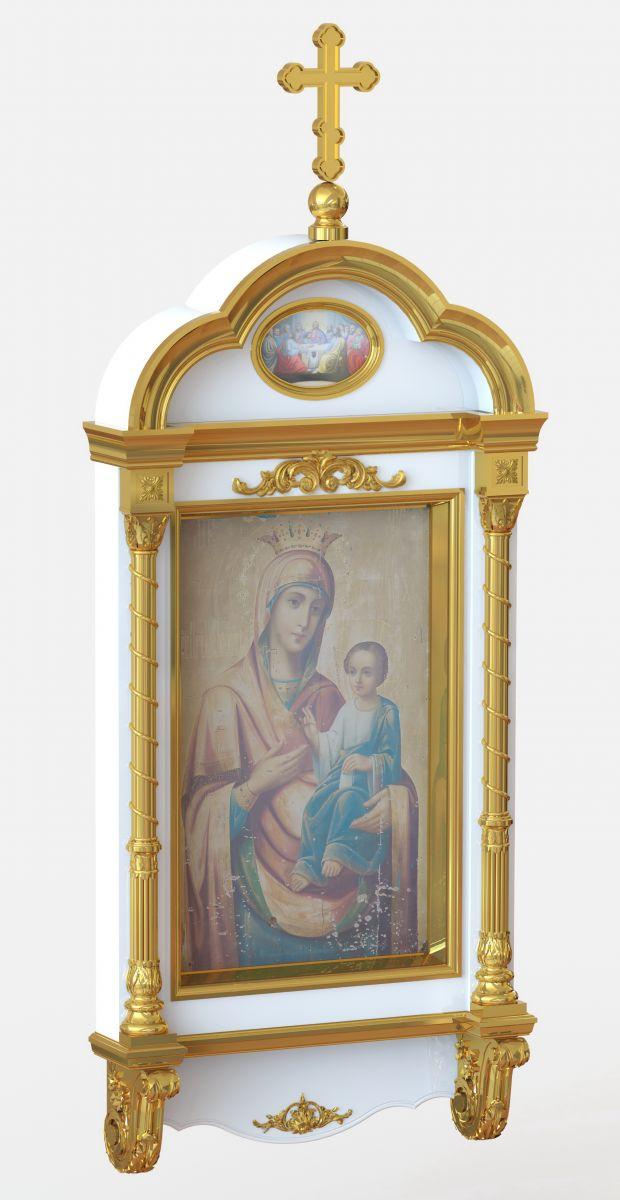 киот иконы Божьей Матери Иверийской навесной