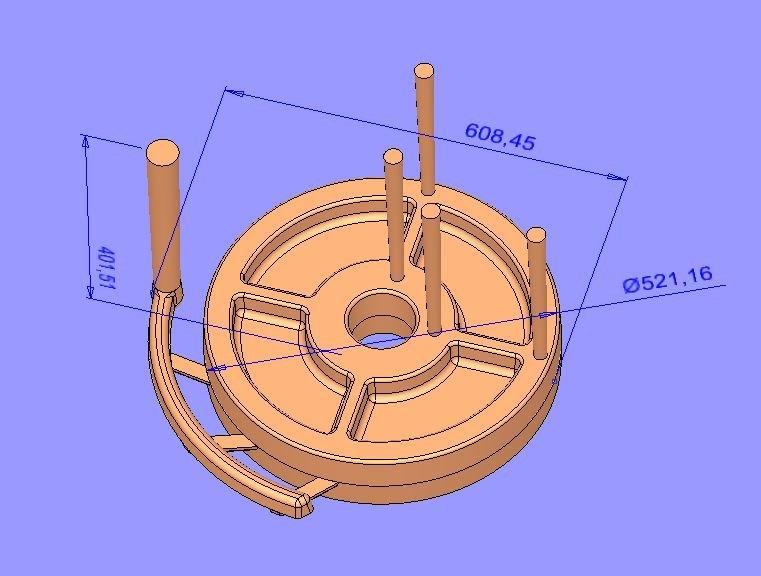 Ролик опорный К56 модель сборка.JPG