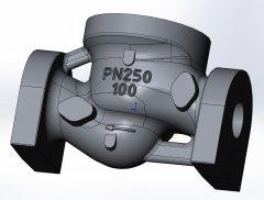 Корпус DN100 PN250